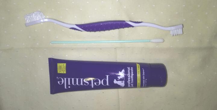 Petsmile Toothbrush & Toothpaste